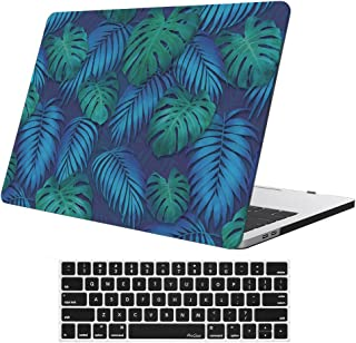 MacBook Pro 13 Case 2017 2016 Release A1706/A1708 ProCase Hard Case Shell Cover and Keyboard Skin Cover for Apple Macbook Pro 13 Inch with/without Touch Bar and Touch ID -Leaves