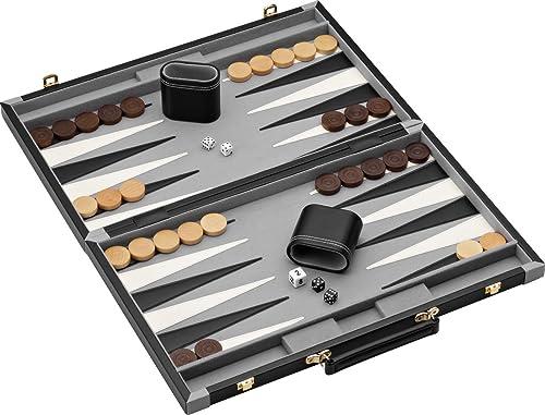 Hauptstra Classics Pennsylvania Ave Backgammon Spiel Set
