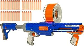 Hasbro Nerf N-Strike Raider Rapid Fire CS-35 Dart Blaster - Blue
