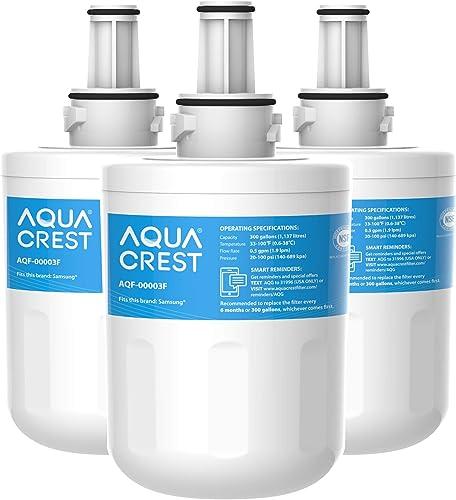 AQUACREST DA29-00003F Filtre à Eau pour Réfrigérateur, Compatible avec Samsung Aqua Pure Plus Samsung DA29-00003F, HA...