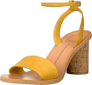 Dolce Vita Women's Jali Sandal, honey nubuck, 6.5 M US