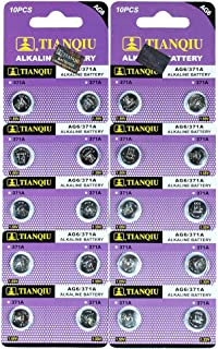 AG6 371A LR920 SR920 SR920SW Button Cell Batteries [20-Pack]
