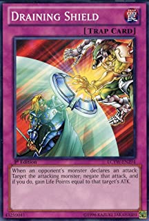 Yu-Gi-Oh! - Draining Shield (LCYW-EN294) - Legendary Collection 3: Yugi's World - 1st Edition - Common