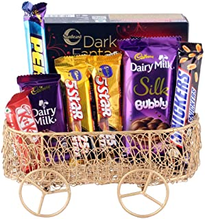 Astonished Retail Astonished Lovely Surprise for Birthday Boy and Birthday Girl   Chocolate Gift Hamper for Diwali, Birthd...