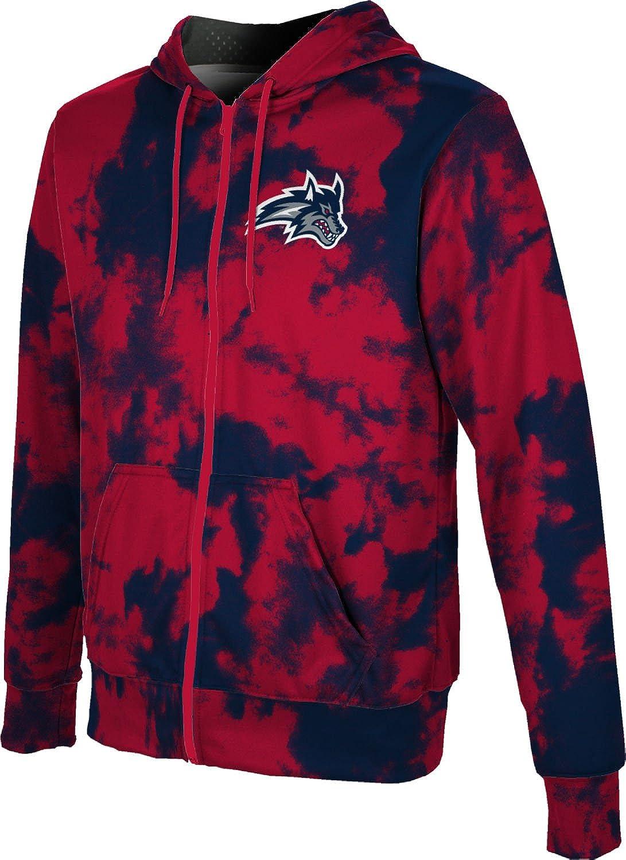 free Stony Brook University Tulsa Mall Boys' Zipper Hoodie Spirit Sweats School