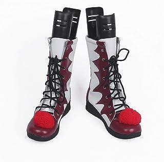MBEN Bottes de Clown Stephen King Il Pennywise 2 Les Chaussures de Cosplay, pour Hommes et des Femmes Adultes Déguisements...