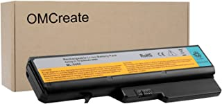 OMCreate Battery Compatible with Lenovo IdeaPad G460 G560 Z460 Z560 Z565, fits L09S6Y02 L09M6Y02 57Y6454 L09C6Y02 L10P6Y22 LO9S6Y02-12 Months Warranty [Li-ion 6-Cell]