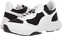 Black/White Nappa Smooth Calf