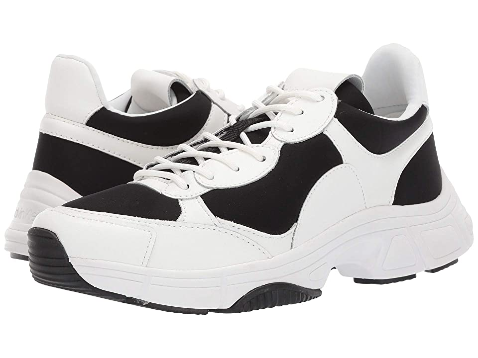 Calvin Klein Daxton (Black/White Nappa Smooth Calf) Men