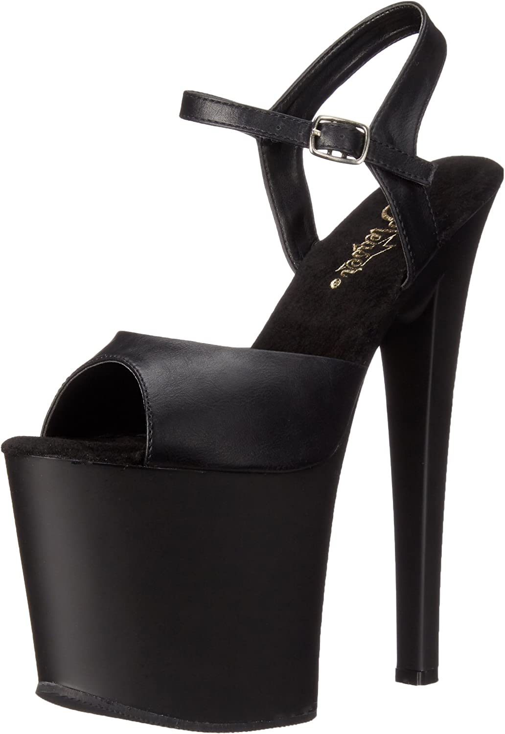 Pleaser Womens Tab709 Bpu M Platform Dress Sandal