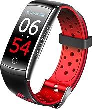 BINDEN Smartband Q8S OLED, Apps de Monitoreo, IP68, Ideal para Deportistas, Notificaciones, hasta 7 Días de Uso - Rojo