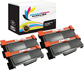 Smart Print Supplies Compatible TN-660 TN660 Black High Yield Toner Cartridge Replacement for Brother HL-L2300 2305 2320 2340 2380, DCP-L2520 2540, MFC-L2700 2720 2740 Printers (2,600 Pages) - 4 Pack