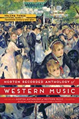 Norton Recorded Anthology Of Western Music 7E Volume 3 MP3 DVD: The Twentieth Century and After DVD-ROM