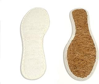Korksohle 2 Paar Einlegesohlen Kork zuschneidbar Schuhsohle Korkeinlage
