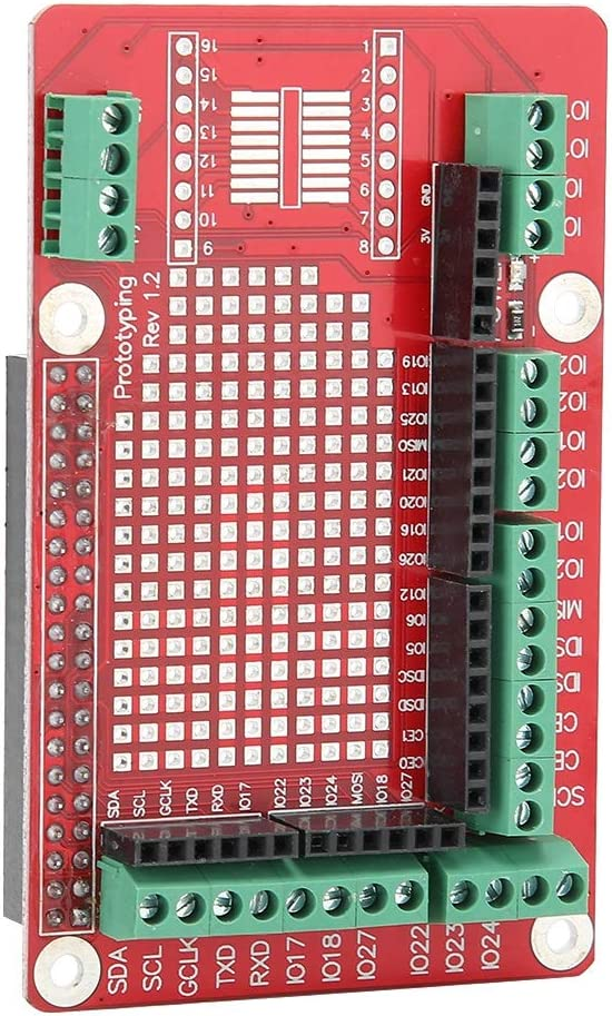 eboxer-1 Prototype Expansion Board Expansion Board, Computer Accessories Shield Module, for Raspberry Pi 4B/3B