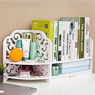 Creative Bookshelf Étui cosmétique pour Ordinateur Étudiant Bureau pour Enfants Rack de Rangement Porte-tiroirs Simple (Co...