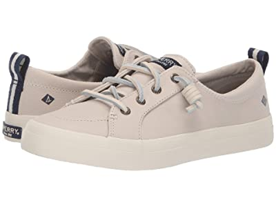 Sperry Crest Vibe Washable Leather (Ivory) Women