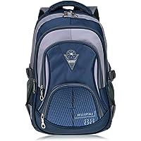Vbiger Middle School Cute Backpack (Blue)