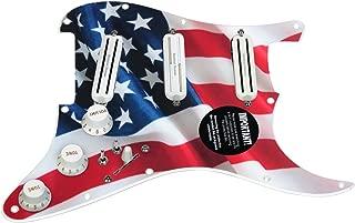 920D Custom Shop Duncan Rails Loaded Stratocaster Strat Pickguard 2 Toggle SS/WH