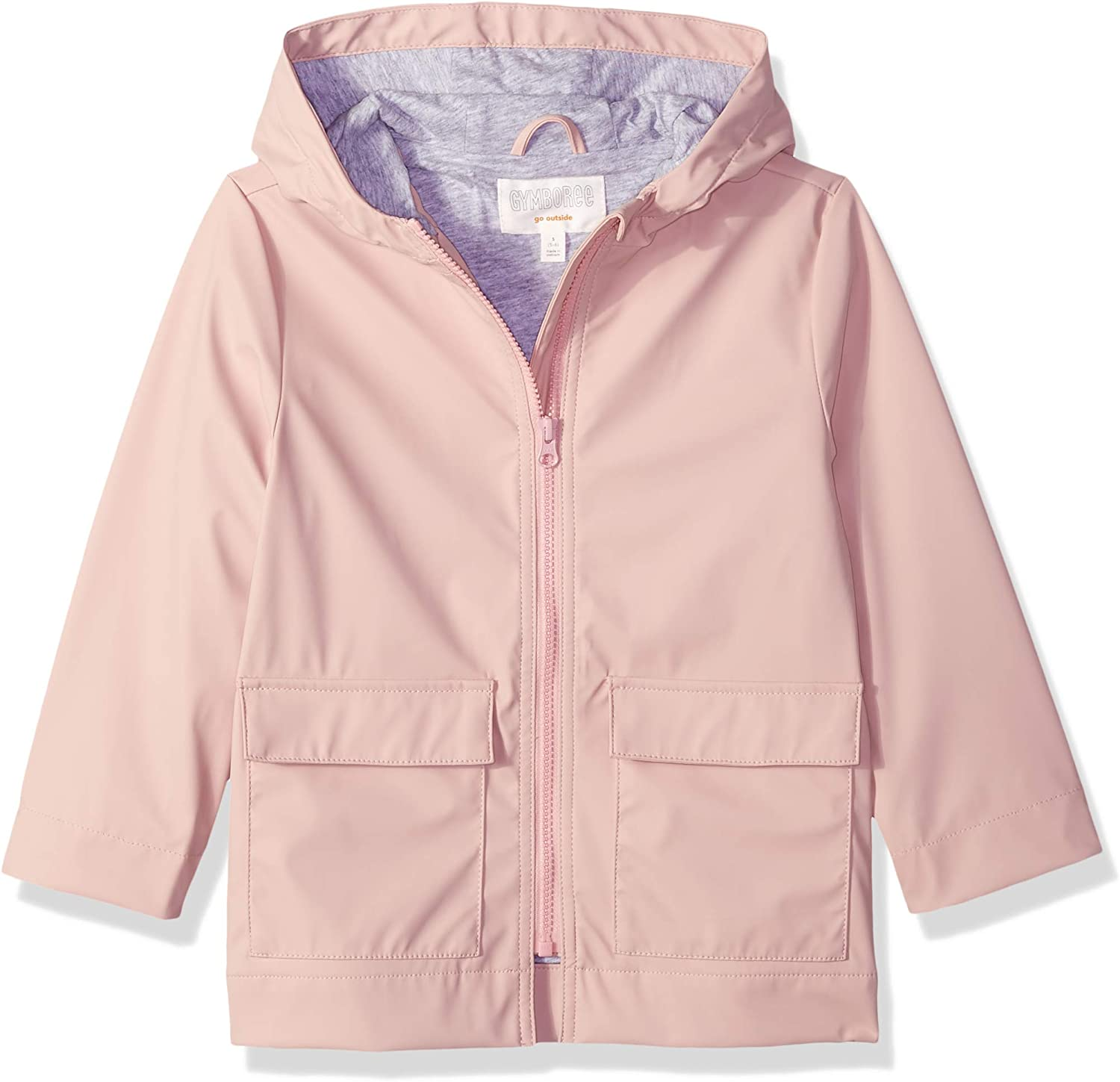 Gymboree Girls' Big Woven Rain Jacket