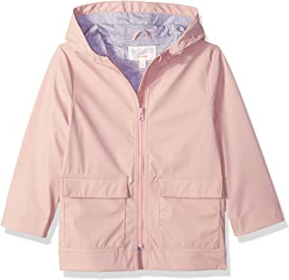 Girls' Big Woven Rain Jacket