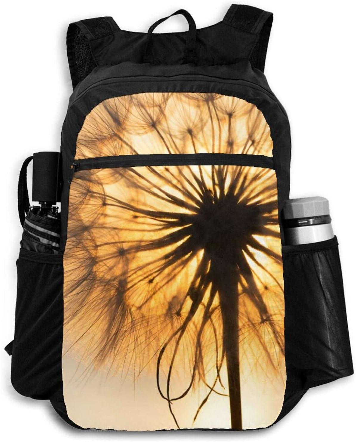 Year-end annual account Zolama Dandelion Silhouette Backpacks for Boston Mall Cute Men Packabl Women