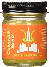 MJ's Herbals Calendula Salve   Skin Soothing Balm, Eczema Cream, Diaper Rash, Scar Treatment, Bug Bite Itch Relief   Organ...