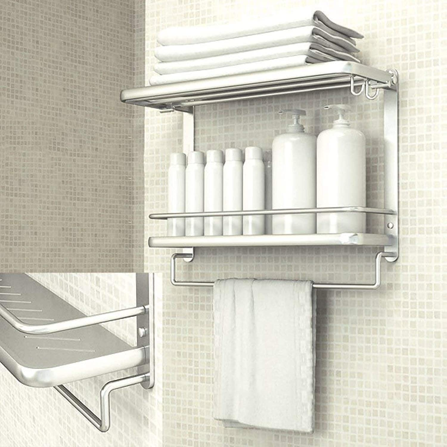 Dry-Towels drilled in The Aluminum Dry-Towels domain of Bains Folding Rack Equipment of The Bathroom Manage