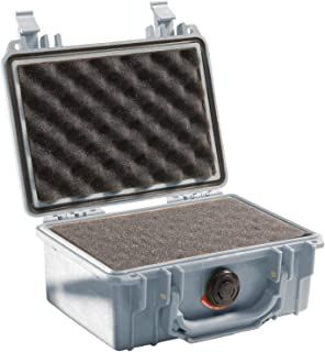 Pelican 1120 Case With Foam (Silver)