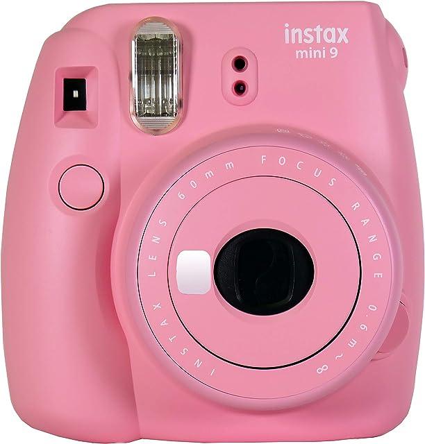 Fujifilm Instax Mini 9 - Cámara instantanea solo cámara Rosa Suave