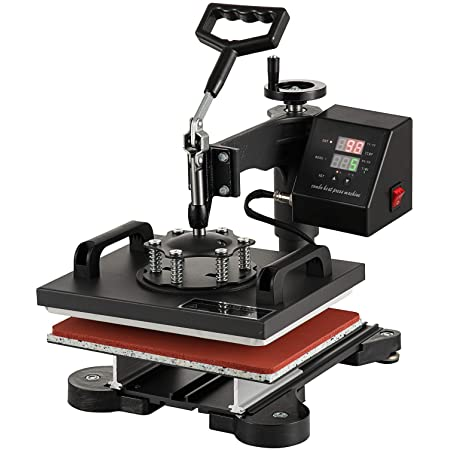 "Smarketbuy Digital Multifunctional Heat Press Machine 12"" x 10"" Heat Transfer Machine for T Shirts (10x12)"