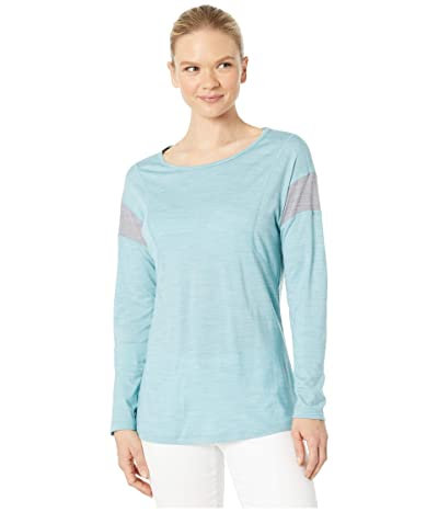 Smartwool Merino Sport 150 Long Sleeve (Wave Blue Heather) Women