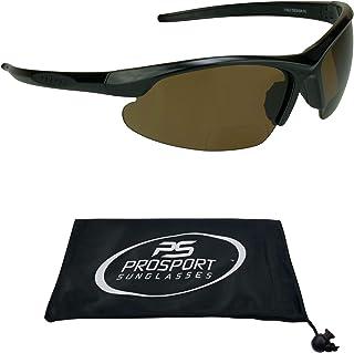 Polarized Bifocal Sunglasses for Men. Impact Resistant Polycarbonate Lenses.