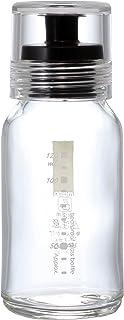 HARIO (ハリオ) ドレッシング ボトル スリム 120ml ブラック DBS-120B