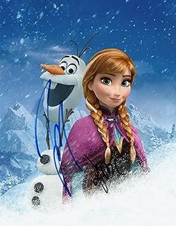 KRISTEN BELL & JOSH GAD - Frozen AUTOGRAPHS Signed 8x10 Photo