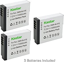 Kastar Battery (3-Pack) for Panasonic DMW-BLH7 DMW-BLH7E DMW-BLH7PP work with Panasonic Lumix DMC-GM1 DMC-GM1K DMC-GM5 DMC-GF7 Cameras