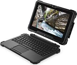 Dell Latitude Rugged 7202 Tablet 2 In 1 Laptop PC (Intel Core M-5Y71, 8GB Ram, 128GB SSD, Dual Camera, Thumb Security) Win 10 Pro Dual Battery (Renewed)