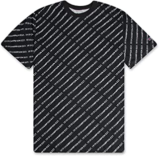 Mens Big and Tall Champion All Over Print Shirt For Men - Big & Tall Graphic Tee