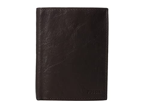 Wallet International Fossil Ingram Combination Brown RFID F8Uw6