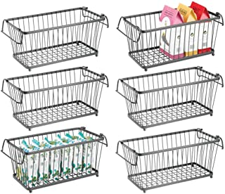 Best wire stackable baskets Reviews