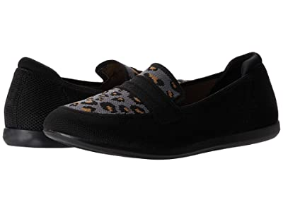 Clarks Carly Charm (Black/Stone Interest Textile) Women