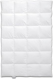 Böhmerwald  Schlafgenuss Daunendecke, allergikergeeignet, 100 % Gänsedaunen, 135x200 cm, Weiß