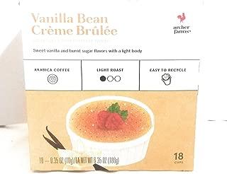 Archer Farms Vanilla Bean Creme Brulee K Pods 18 cups