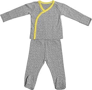 Calvin Klein RZ3117 Pijama Entero para Bebé-Niños