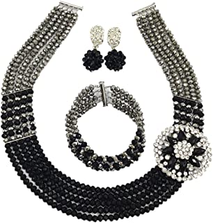 Best black and white jewellery sets Reviews
