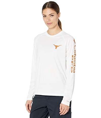 Columbia College Texas Longhorns Collegiate Tidal Long Sleeve Shirt Women