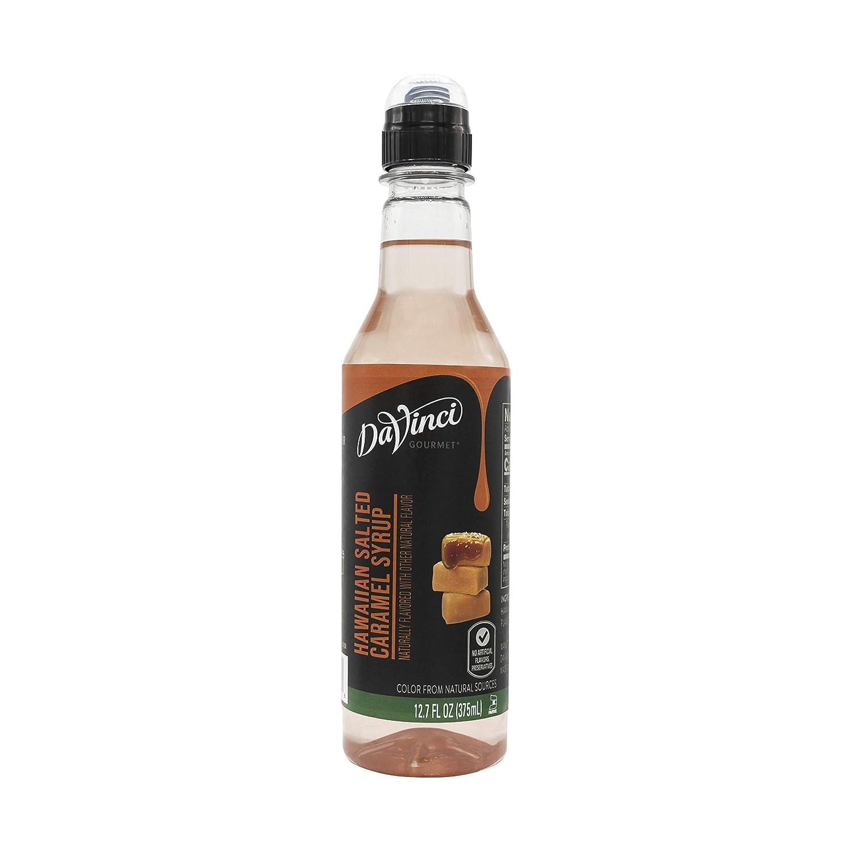 DaVinci Gourmet Origin Hawaiian Salted Caramel Syrup, Hawaiian Salted Caramel, 375mL/12.7 Ounces