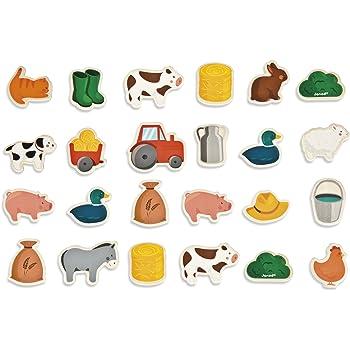 Musical Animals Large Fridge Magnet