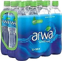 (عبوة من 12 زجاجة) مياه أروى المعدنية للشرب - حجم 500 مل