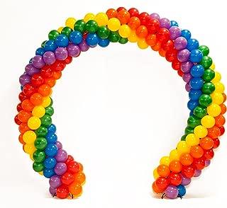 Rainbow Pride Balloon Arch Kit, 10 Feet x 11 Feet